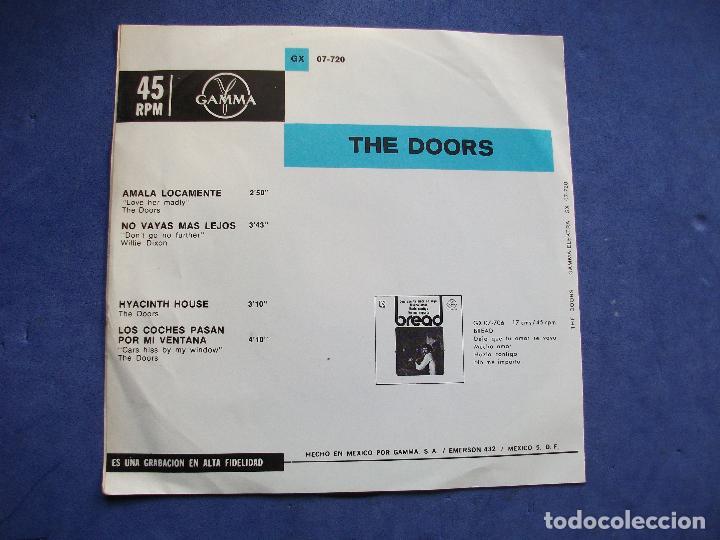 Discos de vinilo: THE DOORS AMALA LOCAMENTE + 3 EP MEJICO PDELUXE - Foto 2 - 68734625