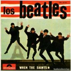 Discos de vinilo: LOS BEATLES CON TONY SHERIDAN – WHEN THE SAINTS - EP SPAIN 1964 - POLYDOR EPH 50 926. Lote 68738609