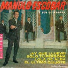 Discos de vinilo: MANOLO ESCOBAR Y SUS GUITARRAS .- EP 1964. Lote 68739265