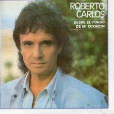 Discos de vinilo: X- ROBERTO CARLOS - SINGLE 1987-. Lote 165585013