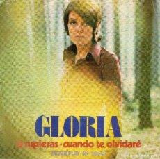 Discos de vinilo: X- GLORIA - SINGLE 1972. Lote 68744109