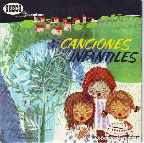 CANCIONES INFANTILES, CANCIONES POPULARES INFANTILES - EP SEECO DISCOPHON, 1966 (Música - Discos de Vinilo - EPs - Música Infantil)