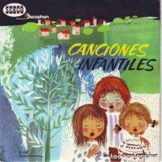 Discos de vinilo: CANCIONES INFANTILES, CANCIONES POPULARES INFANTILES - EP SEECO DISCOPHON, 1966. Lote 68749505