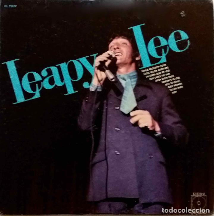 LEAPY LEE. RUBY. LP ORIGINAL USA. (Música - Discos - LP Vinilo - Pop - Rock Extranjero de los 50 y 60)