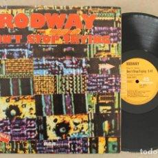 Discos de vinilo: RODWAY DON'T STOP TRYING MAXI SINGLE VINILO. Lote 68755445