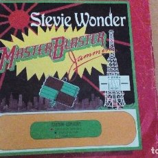 Discos de vinilo: STEVIE WONDER MASTER BLASTER SINGLE. Lote 68775521