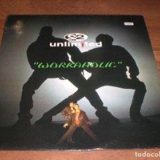 Discos de vinilo: 2 UNLIMITED - WORKAHOLIC. Lote 68779645