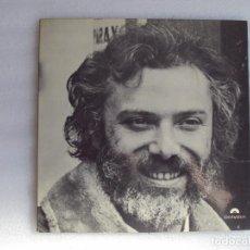 Discos de vinilo: GEORGES MOUSTAKI, LP EDICION FRANCESA POLYDOR, CARPETA ABIERTA.. Lote 68812961