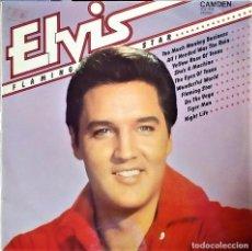Discos de vinilo: ELVIS PRESLEY - FLAMING STAR - RCA CAMDEN (ENGLAND) LP. Lote 68824669