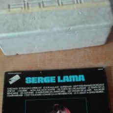 Discos de vinilo: SERGE LAMA 3LPS . Lote 68826430