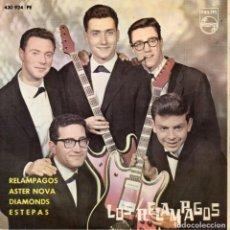 Discos de vinilo: RELAMPAGOS, EP, RELAMPAGOS + 3, AÑO 1963. Lote 68827145