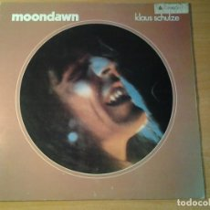 Discos de vinilo: KLAUS SCHULZE MOONDAWN LP ARIOLA 1976 EDICION ESPAÑOLA. Lote 68827349