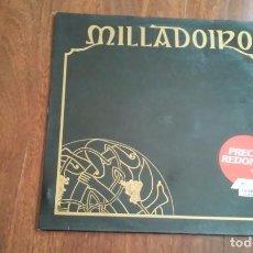 Discos de vinilo: MILLADOIRO-LP. Lote 68840689