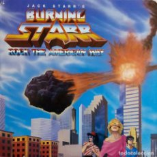 Discos de vinilo: JACK STARR. BURNING STARR. ROCK THE AMERICAN WAY. LP USA. Lote 68855849