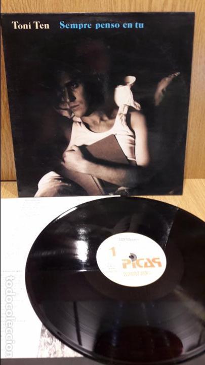 TONI TEN. SEMPRE PENSO EN TU. LP / PICAP - 1991 / MBC. ***/*** (Música - Discos - LP Vinilo - Solistas Españoles de los 70 a la actualidad)