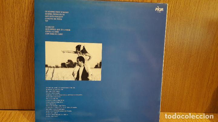 Discos de vinilo: TONI TEN. SEMPRE PENSO EN TU. LP / PICAP - 1991 / MBC. ***/*** - Foto 2 - 68859629