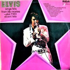 Discos de vinilo: ELVIS PRESLEY : ELVIS SINGS HITS FROM HIS MOVIES PLUS TWO RECENT HITS (VG/VG+), RCA CAMDEN CDS 1110. Lote 47863732