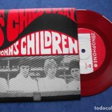 Discos de vinilo: JOHN´S CHILDREN PERFUMED GARDEN + 3 EP UK PDELUXE. Lote 68870221