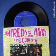 Discos de vinilo: JOHN FRED Y SU PLAYBOY BAND OYE CONEJITA + 3 EP MEJICO PDELUXE. Lote 68870337