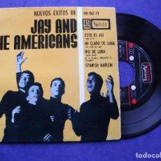 Discos de vinilo: JAY & THE AMERICANS ESTO ES ASI , MOON RIVER + 2 EP SPAIN PDELUXE. Lote 68870529