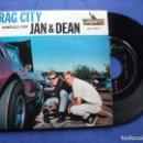 Discos de vinilo: JAN & DEAN DRAG CITY + 3 EP FRANCIA PDELUXE. Lote 68870641