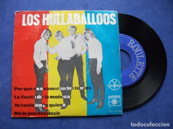 LOS HULLABALLOOS LA FIESTA DE LA MUÑECA + 3 EP MEJICO 1965 PDELUXE (Música - Discos de Vinilo - EPs - Grupos y Solistas de latinoamérica)