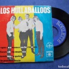 Discos de vinilo: LOS HULLABALLOOS LA FIESTA DE LA MUÑECA + 3 EP MEJICO 1965 PDELUXE. Lote 68870793