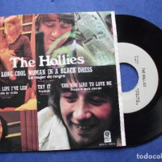 Discos de vinilo: THE HOLLIES LONG COOL WOMAN IN A BLACK+3 EP MEJICO 1972 PDELUXE. Lote 68870881