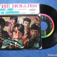 Discos de vinilo: THE HOLLIES CARRIE ANNE + 1 SINGLE MEXICO 1967 PDELUXE. Lote 68871157