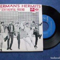 Discos de vinilo: HERMANS HERMITS MY SENTIMENTAL FRIEND + 3 EP PORTUGAL PDELUXE. Lote 68876185