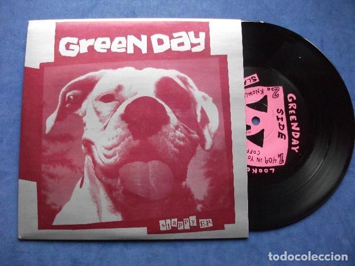 Discos de vinilo: GREEN DAY PAPER LANTERNS + 3 EP USA 1990 PDELUXE - Foto 1 - 68876337