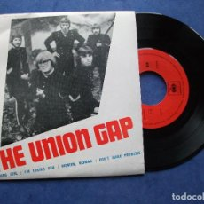Discos de vinilo: GARY PUCKETT & THE UNION GAP YOUNG GIRL,WOMAN WOMAN +2 EP PORTUGAL PDELUXE. Lote 110638260