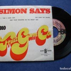 Discos de vinilo: 1910 FRUIT GUM & CO SIMON SAYS + 3 EP PORTUGAL PDELUXE. Lote 68876697