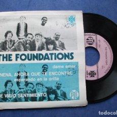 Discos de vinilo: THE FOUNDATIONS NENA AHORA QUE TE ENCONTRE EP MEJICO 1972 PDELUXE. Lote 68876937