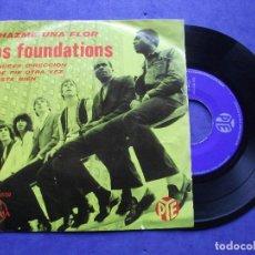 Discos de vinilo: THE FOUNDATIONS HAZME UNA FLOR + 3 EP MEJICO PDELUXE. Lote 68877009