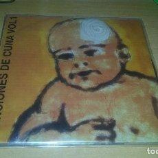 Discos de vinilo: EP LOS VINOS / ANEUROL 50 / THE CREPITOS / LOS BUGES.1994. Lote 68877269