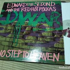 Discos de vinilo: EDWARD THE SECOND AND THE RED HOL POLKAS LP TWO STEP TO HEAVEN COOKING VINYL 89 REGGAE DUB. Lote 70417093