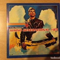 Discos de vinilo: LOS PLANETAS: HIMNO GENERACIONAL # 83 (COPIA NÚMERO 555). Lote 68888207