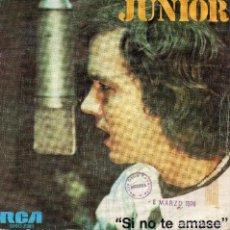 Discos de vinilo: JUNIOR SINGLE PROMO 1975 -. Lote 68918093