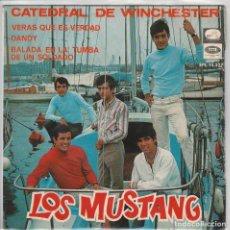 Discos de vinilo: LOS MUSTANG / CATEDRAL DE WINCHESTER + 3 (EP 1967). Lote 68921185
