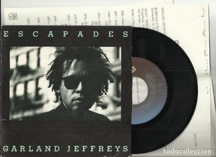 GARLAND JEFFREYS EP ESCAPADES.CON 6 HOJAS PROMO.HOLANDA 1981 (Música - Discos de Vinilo - EPs - Reggae - Ska)