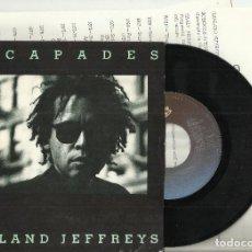 Discos de vinilo: GARLAND JEFFREYS EP ESCAPADES.CON 6 HOJAS PROMO.HOLANDA 1981. Lote 68938301