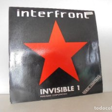 Discos de vinilo: INTERFRONT INVISIBLE 1 FRAN-GANI CORPORACION. INVISIBLE RECORDS 1990. VER FOTOGRAFIAS ADJUNTAS. . Lote 68940537