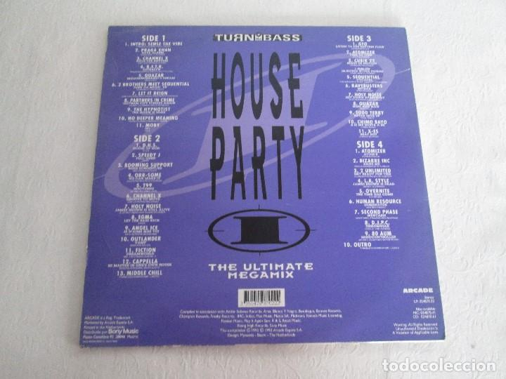 Discos de vinilo: TURN UP THE BASS. HOUSE PARTY. THE ULTIMATE MEGAMIX. DOS VINILOS. ARCADE. VER FOTOGRAFIAS ADJUNTAS - Foto 15 - 68944573