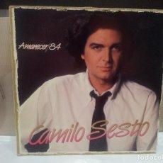 Discos de vinilo: CAMILO SESTO AMANECER/84 1983 BUEN ESTADO VER FOTOS. Lote 68946581
