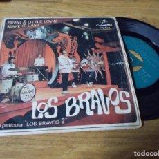 Disques de vinyle: LOS BRAVOS, DE LA PELICULA LOS BRAVOS 2. Lote 68962353