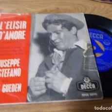 Discos de vinilo: GIUSEPPE DI STEFANO AND HILDE GUEDEN. L´ELISIR D´AMORE.. Lote 68968953