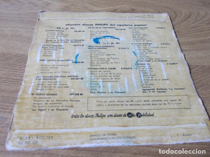 Discos de vinilo: HECTOR LARIN. ALIVIO, LLAVE DE ORO. SIN FÉ, ROMANCE SIN PALABRA. - Foto 2 - 68971561