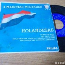 Discos de vinilo: 4 MARCHAS MILITARES HOLANDESAS.. Lote 68972125