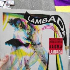 Discos de vinilo: LP LA LAMBADA. Lote 68989617